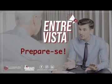PREPARE-SE PARA ENTREVISTAS
